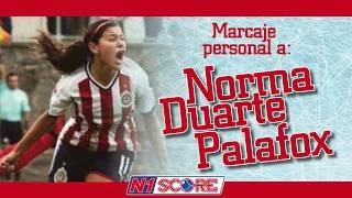 Norma Duarte Palafox, Chivas vs. León femenil