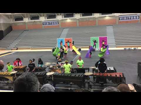 Reyburn Intermediate Indoor Percussion 2019 - 80's Workout