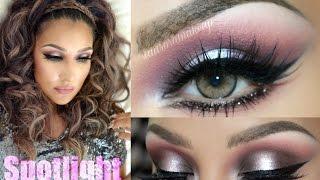 @auroramakeup -Rosa y Gris GLAM (SPOTLIGHT in PINK & GRAY makeup)