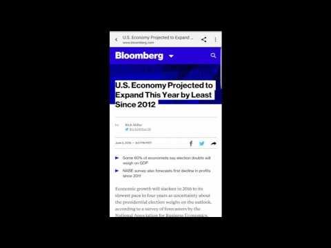 AMERICA'S ECONOMY IS GOING DOWN