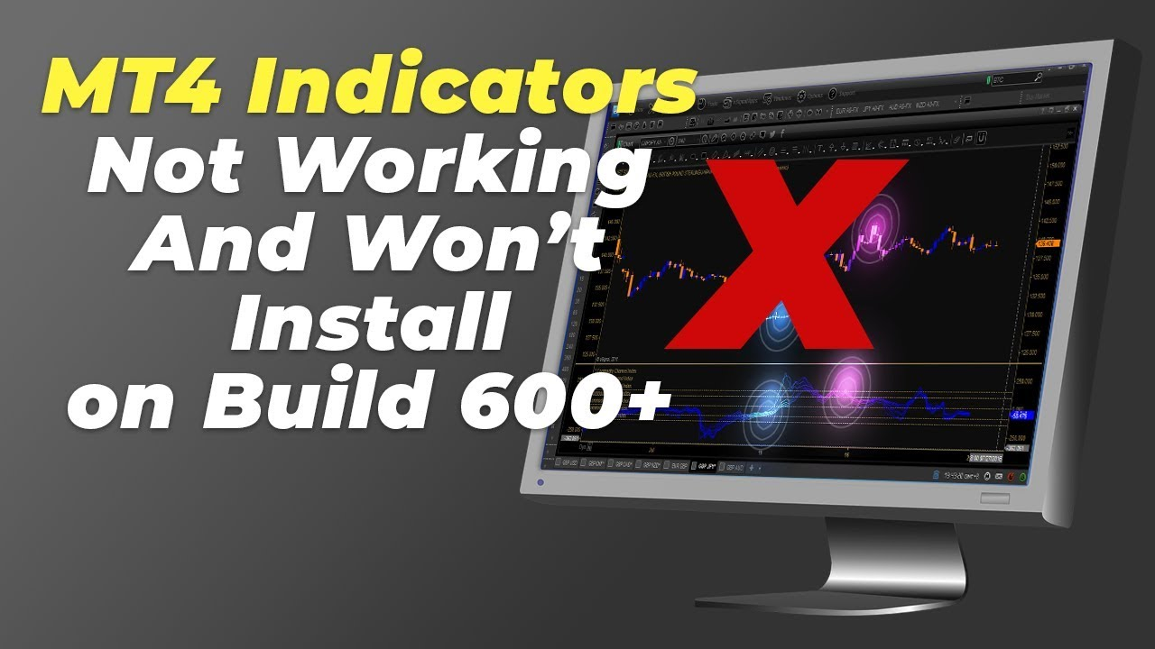 Mt4 Trading Indicators Not Working And Won T Install On Mt4 Build