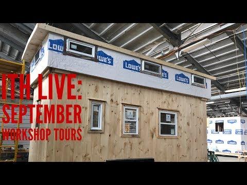 Incredible Tiny Homes Live: September Workshop Tours