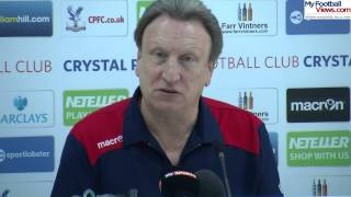 Palace boss Neil Warnock plans January signings