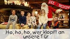 Ho, Ho, Ho, wer klopft an unsere Tür - Weihnachtslieder für Kinder    Kinderlieder