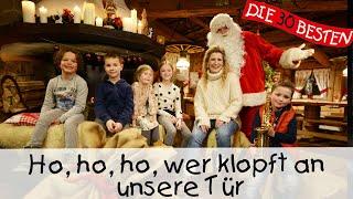 Ho, Ho, Ho, wer klopft an unsere Tür - Weihnachtslieder für Kinder || Kinderlieder
