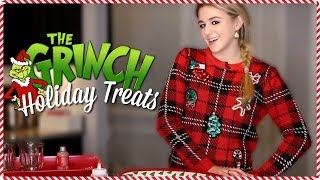 Grinch Holiday Treats // 24 days of Chloe // Chloe Lukasiak