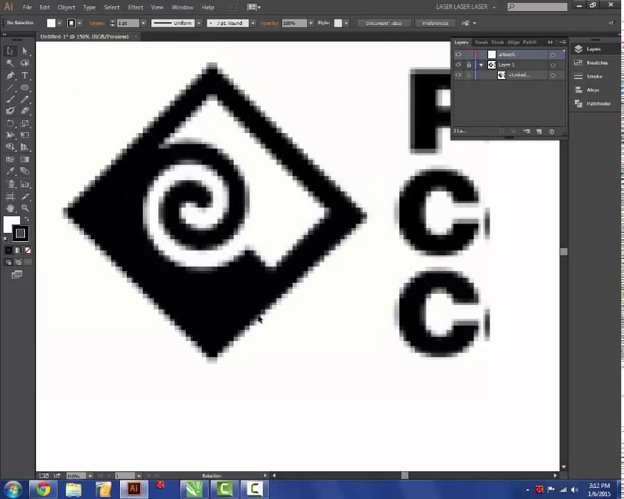 Adobe Illustrator Design For Laser Cutting 1 Youtube