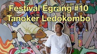 Belajar Permainan Tradisional Egrang Di Festival Egrang 10 Tanoker Ledokombo Youtube
