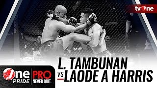 [HD] Lamhot Tambunan vs Laode Abdul Harris - One Pride MMA - Featherweight Ranking Fight