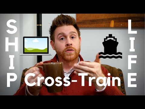 Can you cross-train while working on the cruise ship?