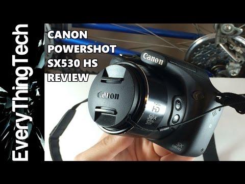 Canon Powershot SX530 HS Review!