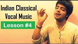 Tutorial 4 (Alankaar) - Indian Classical Vocal Music for Beginners by Siddharth Slathia