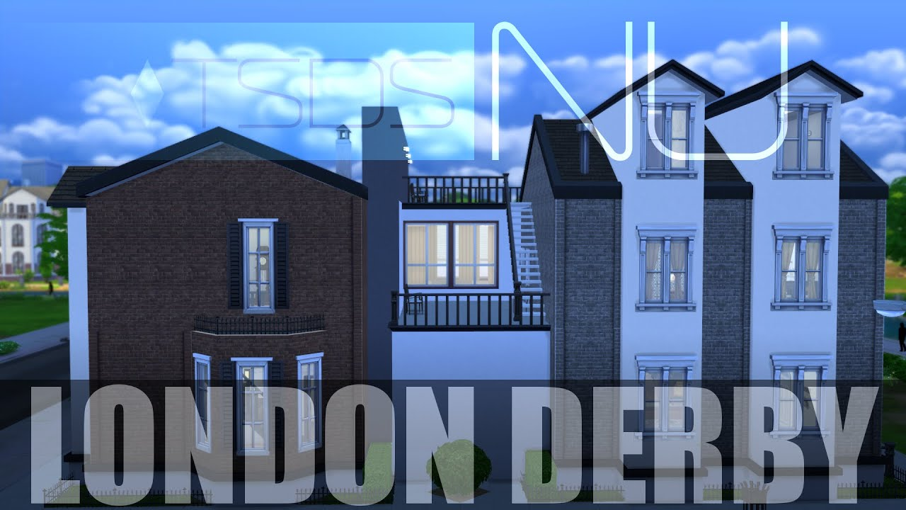The Sims 4 Classy Modern House London Derby HD YouTube