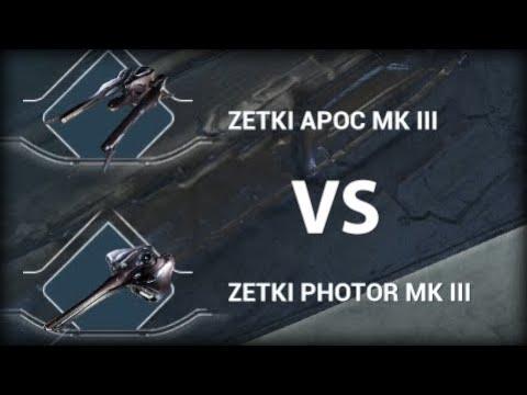 Warframe Railjack Weapon Comparison Apoc Versus Photor