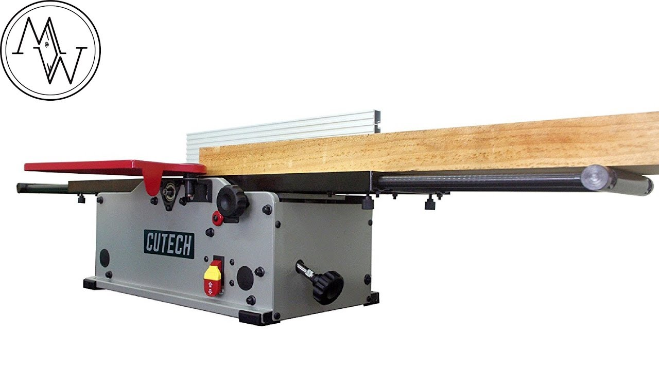 Cutech 8 Jointer Model 40180h Ct With Hss Tips Can A Bench Top Jointer Really Perform Well