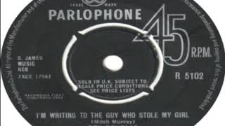 Dev Douglas I'm Writing To The Guy Who Stole My Girl 1964