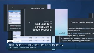 SLC School District discusses return of students to in-person learning