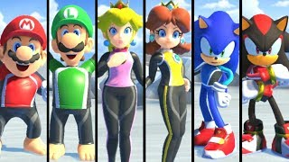 Mario & Sonic at the Olympic Games Tokyo 2020 - Surfing (All Characters)