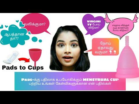 Menstrual cup Qna in Tamil | Ungal kelvigal en badhilgal | Detailed video| Keerthi Shrathah
