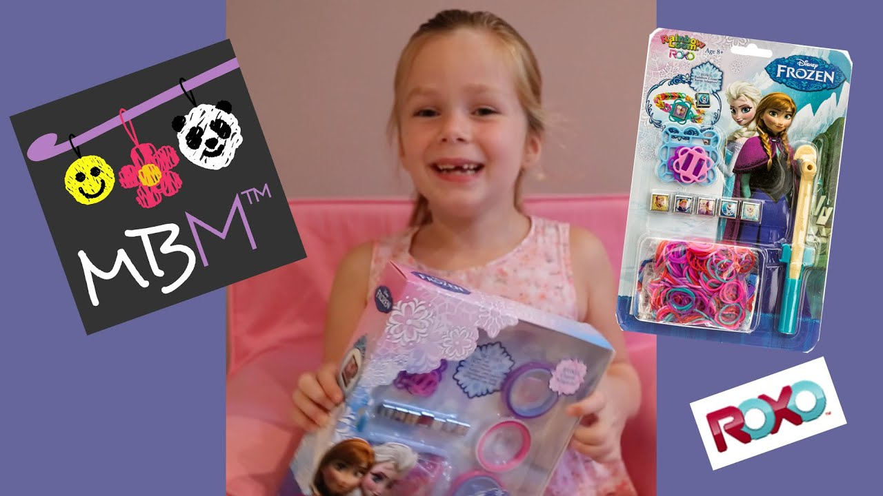 Disney Frozen Rainbow Loom Roxo Charm Bracelet Kit Review