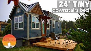 Semi-Retired Womans 24 Craftsman Tiny Home N Coastal Tiny Community