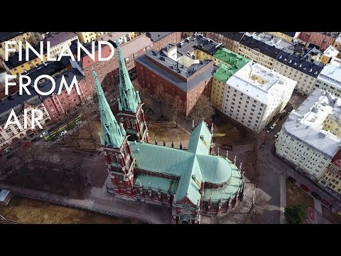 Finland From Air #2 - HELSINKI | Mavic Pro 4k
