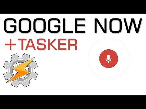 AutoVoice Tasker with Google Now - YouTube