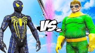 Spider-Man PS4 (Anti-Ock) vs Doctor Octopus - Epic Battle