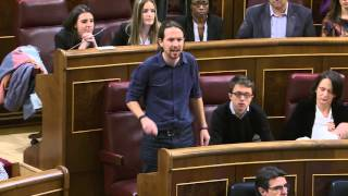 Pablo Iglesias promete su cargo como diputado