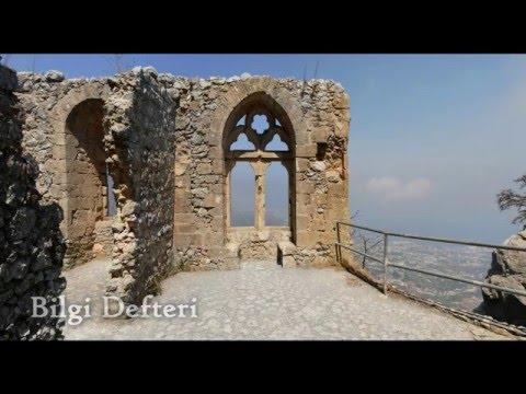 St. Hilarion Kalesi Girne Kuzey Kıbrıs (St. Hilarion Castle - Kyrenia - North Cyprus)