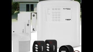 ECP Alard Max como configurar seu alarme