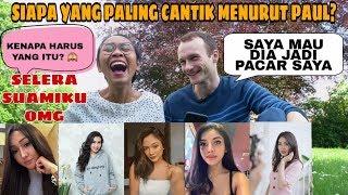 REAKSI BULE LIHAT ARTIS INDONESIA PERTAMA KALI | SAMPE MINTA POLIGAMI 😂