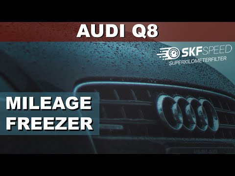 audi-q8-interior-trim-removal-speedometer-a6-c8-install-km-freezer-mileage-correction