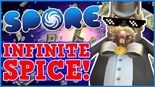 Becoming A GOD IN SPORE - Breaking The Spore Economy With INFINITE SPICE Is Perfectly Balanced