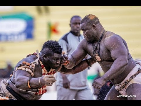 Senegalese Wrestling Video 7