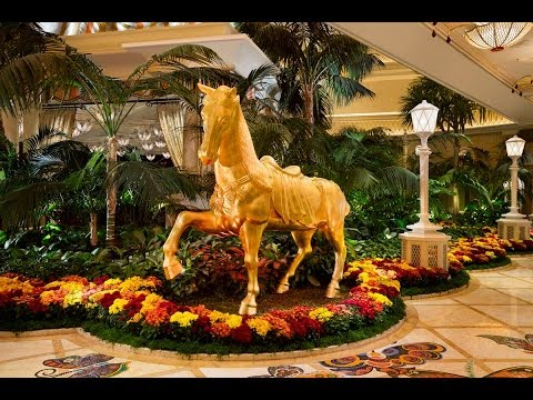 Chinese New Year 2014 Horse Sculpture