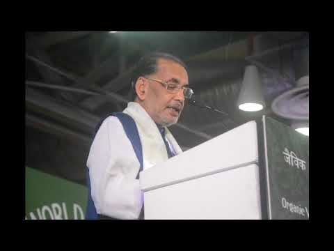 Agriculture Minister Radha Mohan Singh Speaks at IFOAM World Organic Congress, Greater Noida