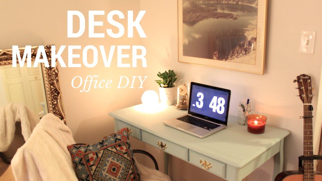 diy office space. Office Space DIY   Desk Makeover Diy D