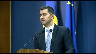 Declarații de presă ale Ministrului Fondurilor Europene, Marius Nica.