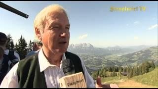 Hansi Hinterseer Fan-Wanderung mit Famil...