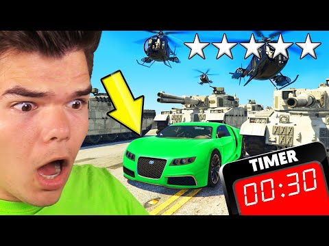GTA 5 But CHAOS Happens EVERY 30 SECONDS! (Mod)