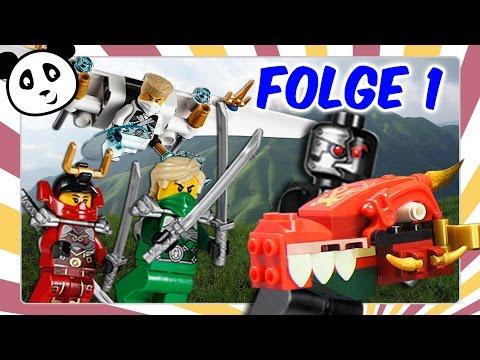 Lego Ninjago deutsch - Folge 1 Diebstahl in Ninjago City Kinderserie