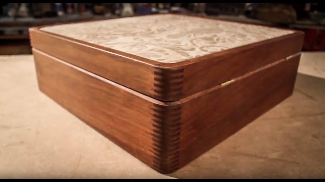 Ipe Wood Leather Box Youtube