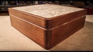 Wood & Leather Box