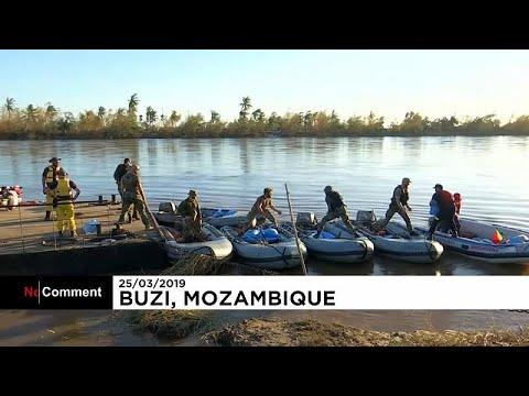 Au Mozambique, la marine portugaise se mobilise en faveur des rescapés du cyclone Idai
