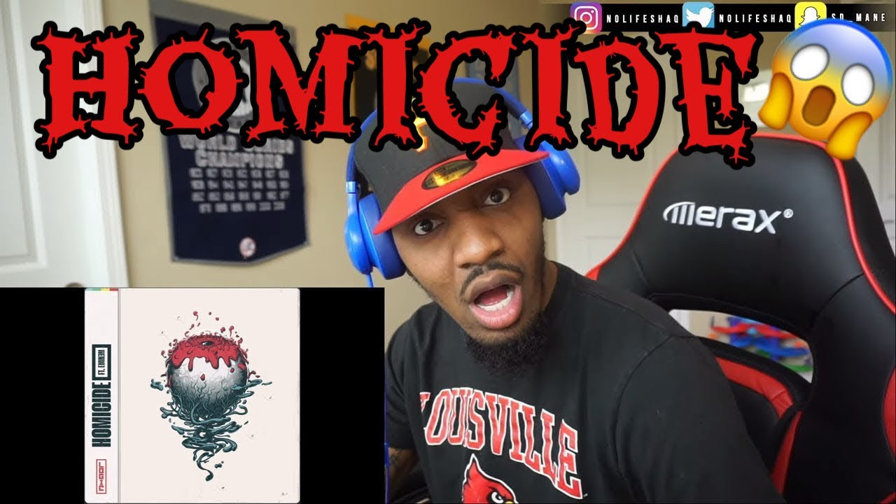 Download Logic - Homicide (feat. Eminem) | REACTION