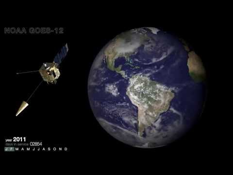 10 Years Of Weather Monitoring From Satellite GOES-12