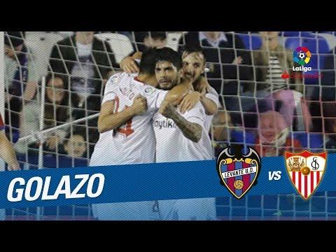 Golazo de Carlos Fernández (1-1) Levante UD vs Sevilla FC