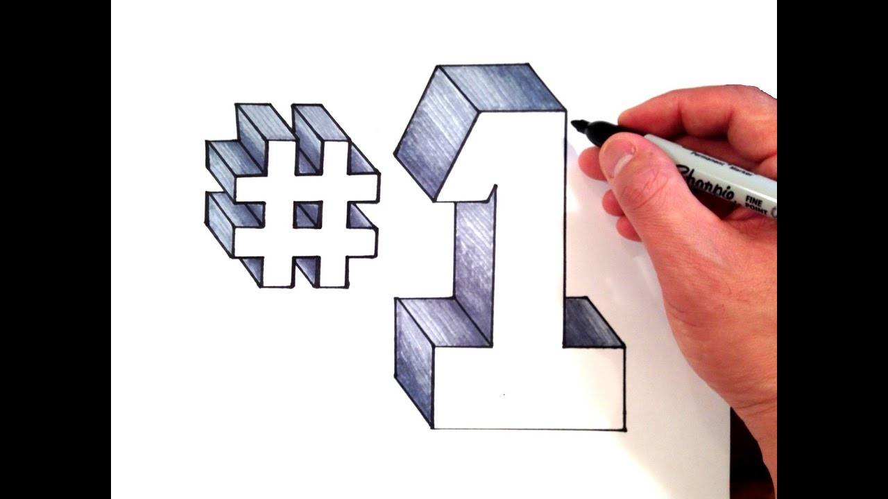 how to write number with hastag