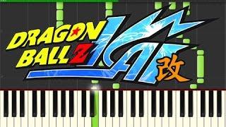 Dragon Ball Kai - Dragon Soul (Piano Tutorial, Synthesia)
